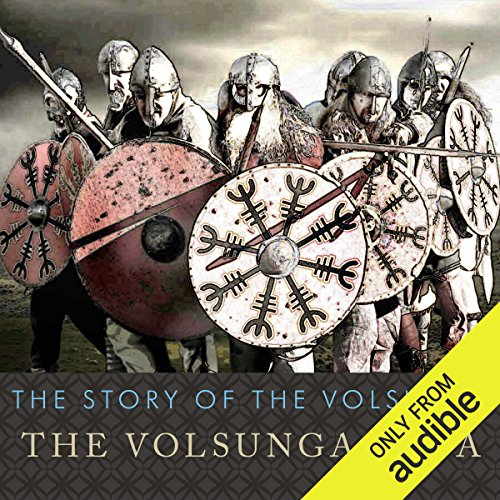The Story of the Volsungs audiobook cover art