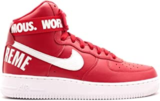 Best supreme nike air force 1 high red Reviews