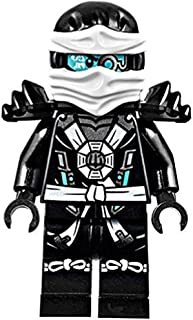LEGO Ninjago Minifigure - Zane Deepstone Minifig with Armor (70737)