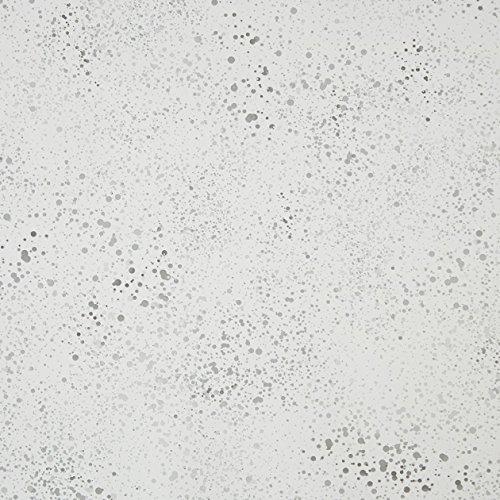 CASELIO ONLY Boys 64869046–Tapeten-Flecken Kleine Typ Aquarell Boden mit Weiß und Schwarzen Zeichnungen und grauen