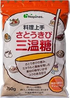 大東製糖 料理上手さとうきび三温糖 750g