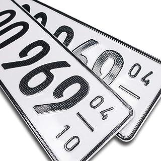Nummernschilder Autozubehör Auto Motorrad