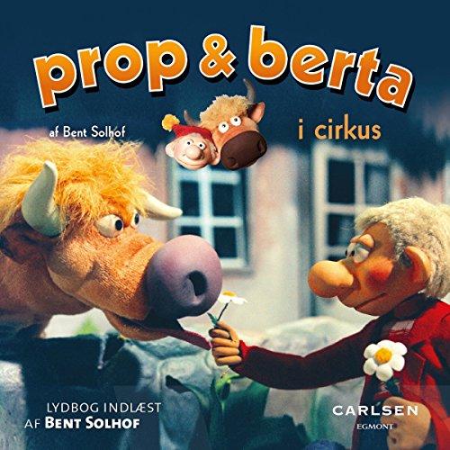 Prop og Berta i cirkus audiobook cover art