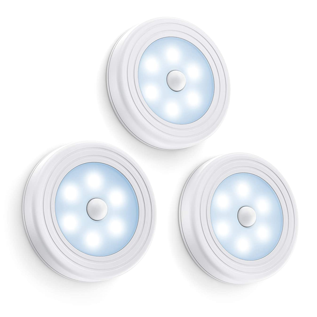 Vont 5841853945 Motion Sensor Light, White, 3 Pieces