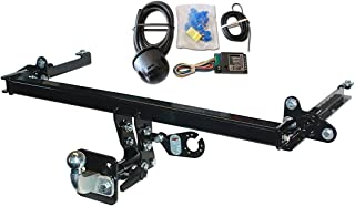 VAN MCLP Detachable Towbar with Electric Kit 13Pin for PEUGEOT PARTNER TEPEE 2008