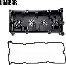 LIMICAR PCV Valve Cover & Valve Cover Gasket CNVG-D1252VC 132643Z001 Compatible with 2002 2003 2004 2005 2006 Nissan Altima Sentra 2.5L QR25DE