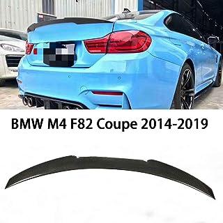 QCWY Spoiler Maletero del Coche para BMW M4 F82 Coupe Techo Trasero Aler/ón Estilo 2014-2019 Cola ala Fija de la Tapa del Viento ala