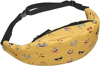 Bageek Women's Waist Bag Adjustable 3D Printing Waist Pack Fashion Crossbody Bag