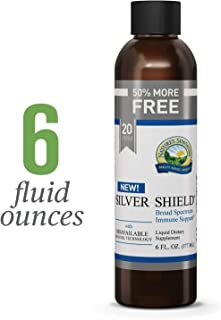 Nature's Sunshine Silver Shield Liquid, 6 fl. oz. | Colloidal Silver Liquid with Aqua Sol Technology Provides Immune Support and Protection