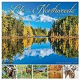Life in the Northwoods 2022 Wall Calendar, Wisconsin