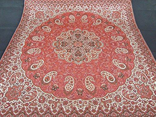 XURANFANG Perzisch geweven fijne kunst zijde termeh gobelin tapijt design tafelkleed wandbehang Mittel ca. 50 cm x 50 cm (20