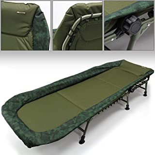 6 LEG DELUXE CARP FISHING BEDCHAIR By wsb Free Next Day Delivery !