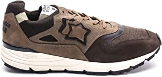 Atlantic Stars Luxury Fashion Mens POLARISDCCF11 Brown Sneakers | Fall Winter 19