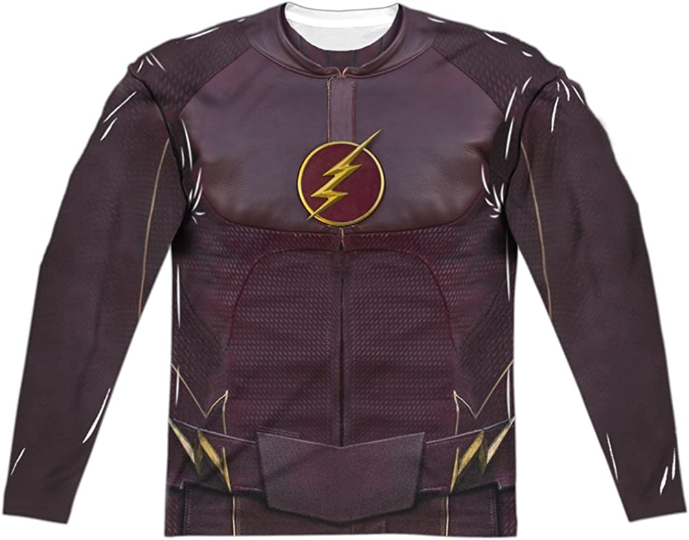 AE Designs The Flash Costume Sublimation Sleeve Front Long Ranking TOP13 Popular B