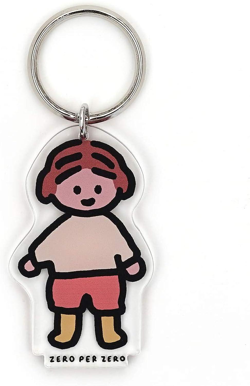 ZEROPERZERO Keychain Keyring Keyholder Cute Animal Pet and Baby Girl