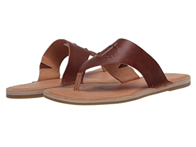 Sperry Seaport Thong Leather (Cathay Spice) Women