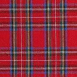 Fabulous Fabrics Hemdenflanell Schottenkaro – rot —