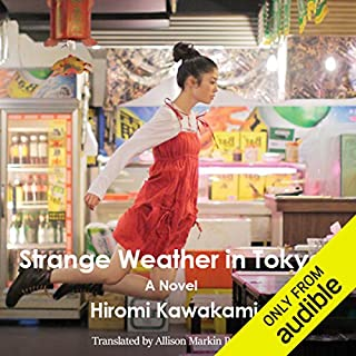 Strange Weather in Tokyo audiobook cover art