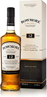 Bowmore 12 Años Single Malt Whisky Escoces, 40% - 700 ml