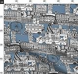London, Toile De Jouy, Großbritannien, Architektur,