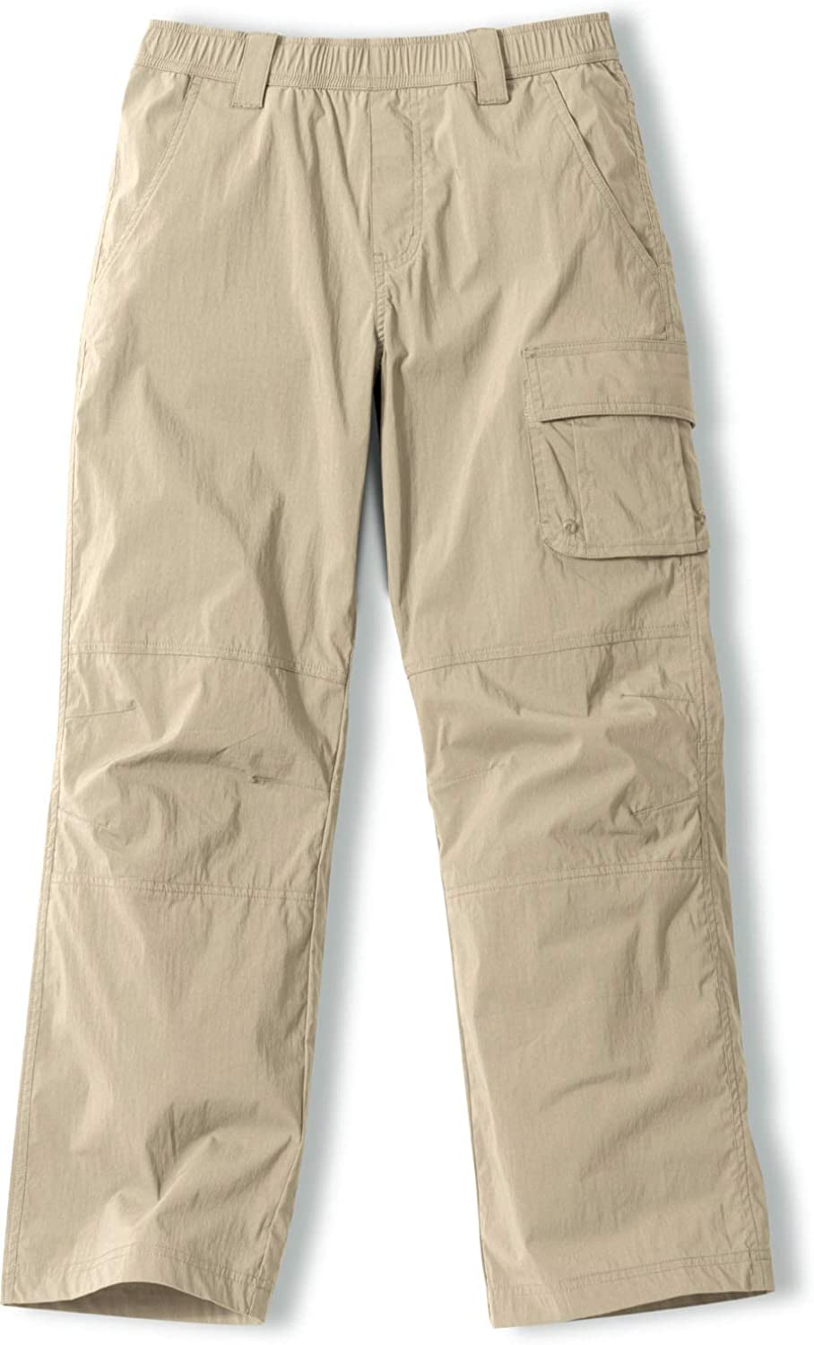 CQR Kids Youth Hiking Cargo Pants, Outdoor Camping Pants, UPF 50+ Quick Dry Regular Pants : Clothing, Shoes & Jewelry