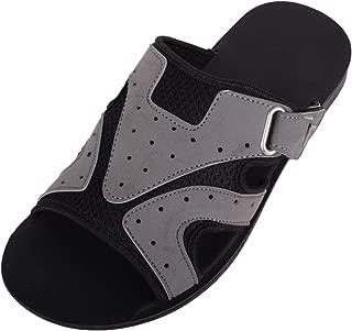 ABSOLUTE FOOTWEAR Mens Light Weight Summer/Holiday/Sport Slip On Mule Sandals/Sliders