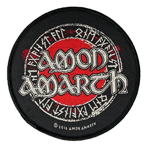 Amon Amarth Runes & Logo Aufnäher Patch - Gewebt & Lizenziert !!