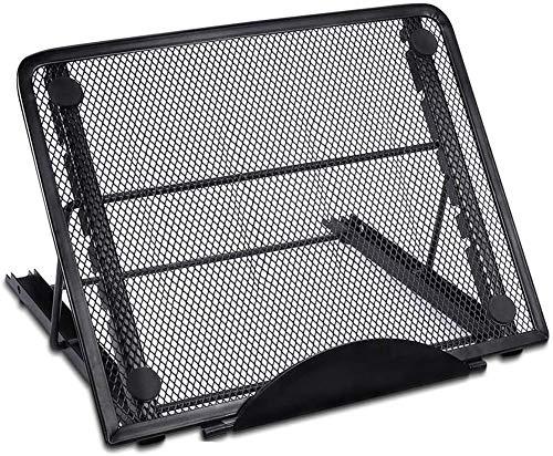 Light Pad Stand Verstellbarer Light Box Laptop Stand 6 Winkel Rutschfester Metallhalter für A4 LED Tracing Box & Diamond Painting Light Pad