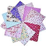 144 Hojas Papel para Papiroflexia Origami Papel Plegable 6 por 6 Pulgadas, 12 Colores y Patrones Diferentes