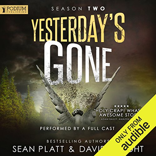 Yesterday's Gone: Season 2 audiobook cover art