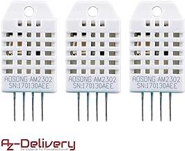 AZDelivery 3 x DHT22 AM2302 Temperatursensor und Luftfeuchtigkeitssensor für Arduino