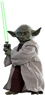 Hot Toys Yoda 1/6 Sixth Scale Star Wars Episode II: Attack of The Clones - Movie Masterpiece Series Collectible Action Figure