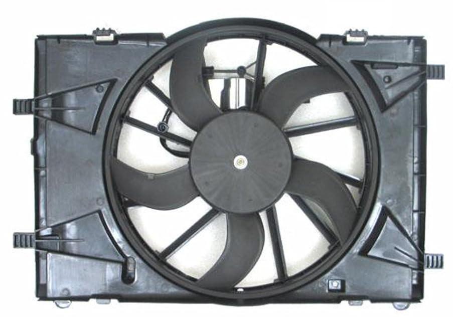 Depo 330-55063-000 Radiator/Air Conditioner Fan Assembly (FORD FUSON/FUSON HYBRID 2.5/3.0L 10-12/ MC MILN/MILN HYBIRD 2.5/3.0L 10-11 ASSY)