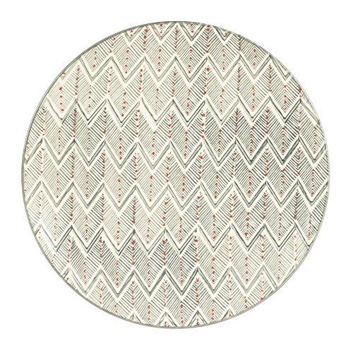 Table Passion - Assiette plate santa fé gris 26 cm