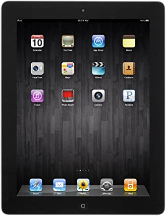 Apple iPad 4 16GB 9.7in Retina Display WiFi Bluetooth & Camera - Black - 4th Gen (Renewed)
