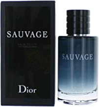 Sauvage by Christian Dior Eau de Toilette Spray for Men, 3.4 Ounce