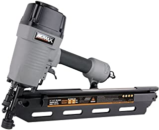 "NuMax SFR2190 Pneumatic 21 Degree 3-1/2"" Full Round Head Framing Nailer Ergonomic.."