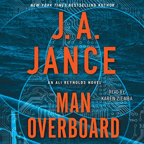 Man Overboard audiobook cover art