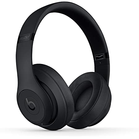 Beats Studio3 Wireless Noise Cancelling Over-Ear Headphones - Apple W1 Headphone Chip, Class 1 Bluetooth, Active Noise Cancelling, 22 Hours Of Listening Time - Matte Black