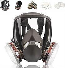 Respirador facial reutilizável, respirador de vapor orgânico com cobertura de gás, suprimentos respiratórios anti-nevoeiro...