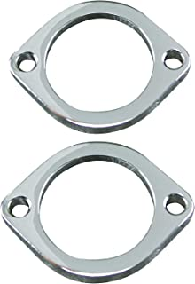 Ultima® Exhaust flanges, chrome 66-203