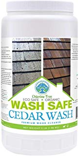 Wash Safe Industries CEDAR WASH Eco-Safe and Organic Wood Cleaner, 3 lb Container