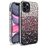 VenSen Glitter Bling Ultra Thin TPU Case for iPhone 11 Pro Max (6.5 inch) Sparkle Crystal Diamond Full Cover Girl Women Phone Case for Phone11 ProMax (Purple)