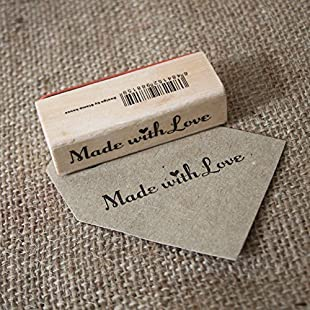 Customer reviews Made With Love Wooden Rubber Stamp - Craft / Scrapbooking / Handmade Tags:Eventmanager