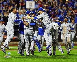 MLB Kansas City Royals 2015 World Series Champions Team Celebration Photo (Size: 8