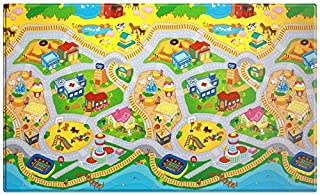 Dwinguler Eco-friendly Kids Play Mat - My Town (Large) (B004VC55Z8) | Amazon price tracker / tracking, Amazon price history charts, Amazon price watches, Amazon price drop alerts