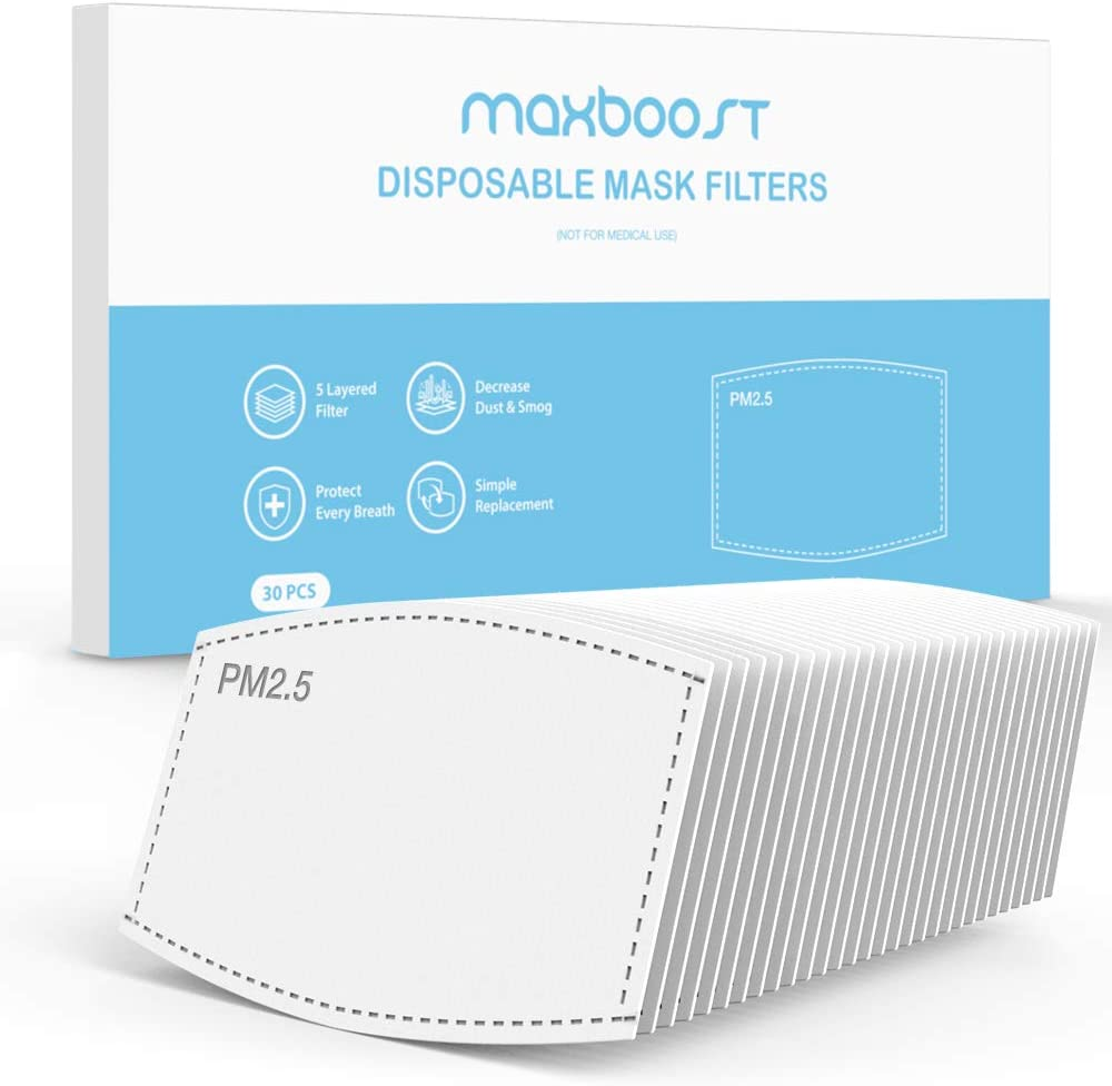 Maxboost PM2.5 Luxury goods Filter Pad Activated of Pack M Overseas parallel import regular item Carbon 30