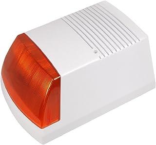 Maclean - Dc3300 - Sirena de Alarma simulada con diodos led Intermitentes con Panel Solar