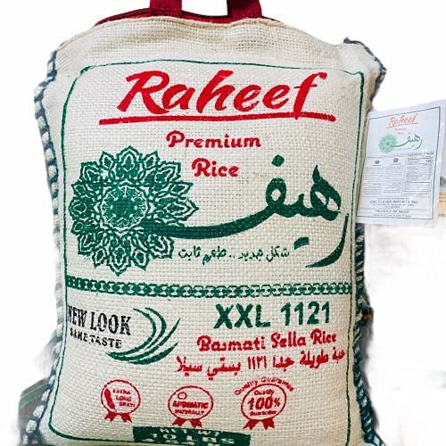 Super Extra Long Indian Basmati Rice Super Clean10 lbs| 100% quality Basmati Rice| Stored in Jute Bags for freshness. Very Aromatic Basmati.