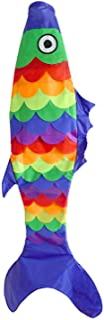 "Briarwood Lane Fish Windsock All-Occasion Rainbow Fish 55"" L Blue"